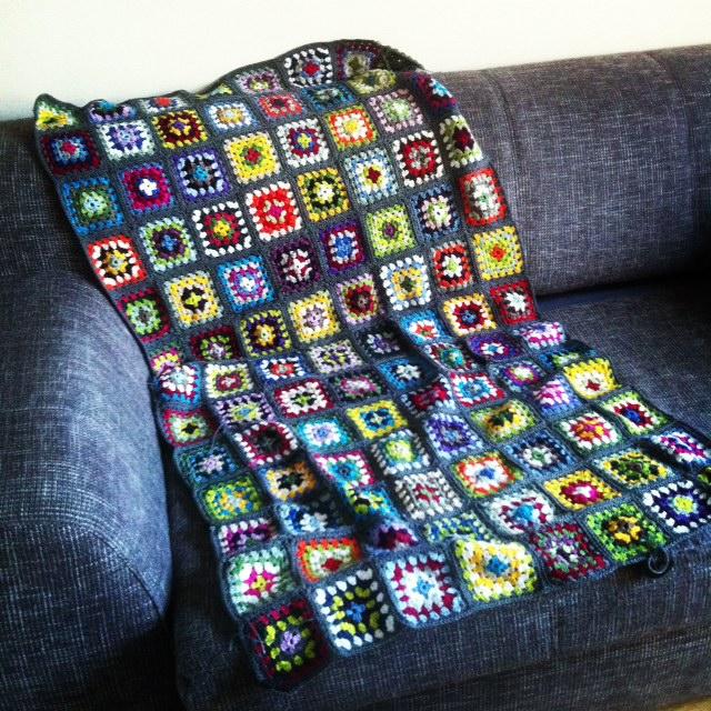Neues Von Der Grannysquare Decke Gemacht Mit Liebe