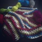 Einen Schal im Grannysaquare-Muster häkeln – so geht´s!