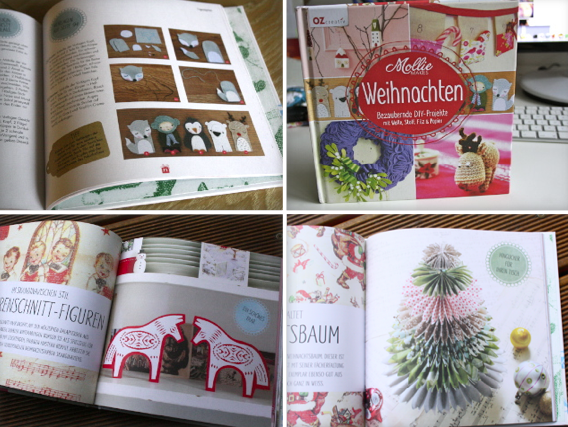 Molly Makes Weihnachtsbuch