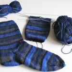 Socken stricken – mein erstes Mal