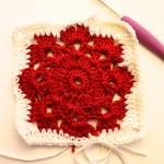 FiftyGrannyCal No. 1: Das Snowflake-Grannysquare