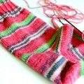 Socken stricken mit Austermann Step 4