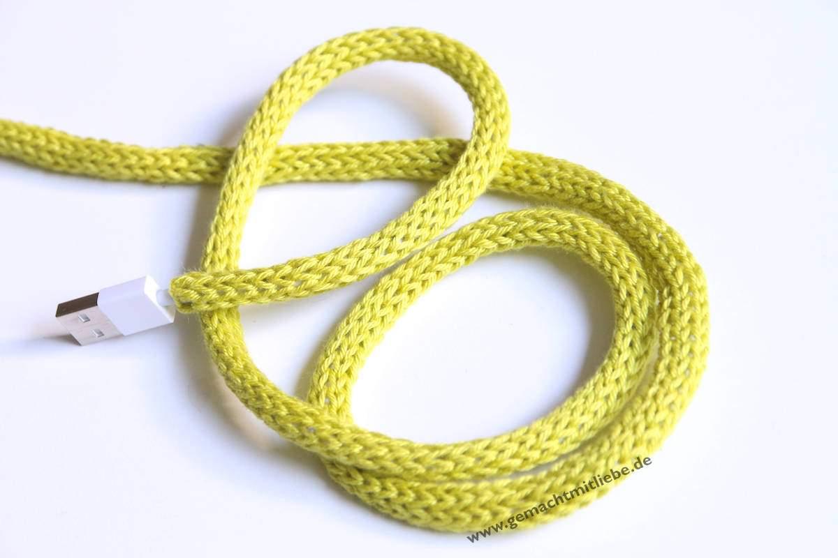 Kabel einstricken