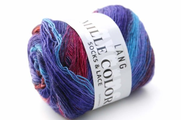 Mille Colori Socks and Lace Blaue Stunde