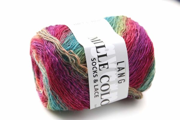 Mille Colori Socks and Lace Sommerwiese