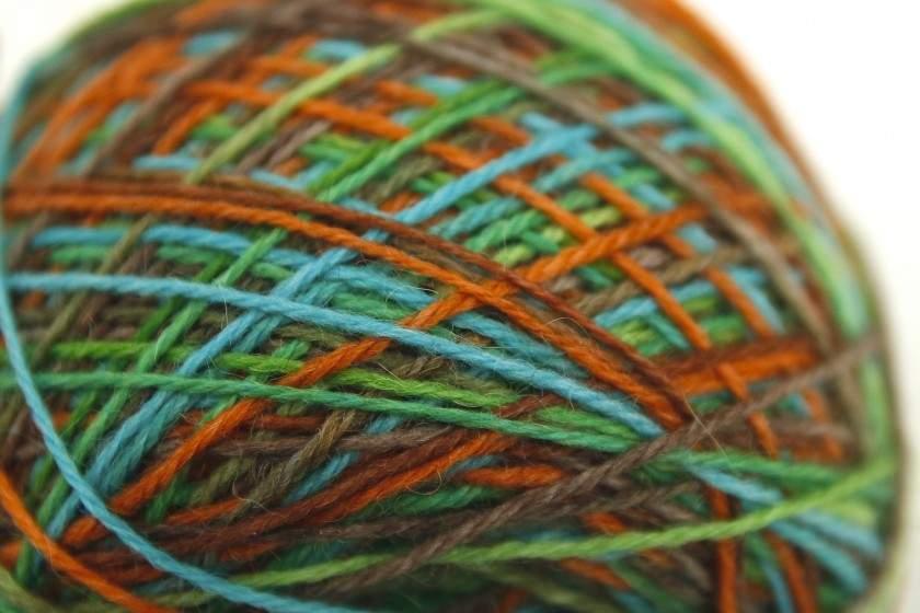 Sockenwolle aus Schottland