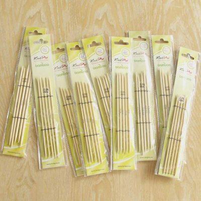knitpro bamboo nadelspiel kurz