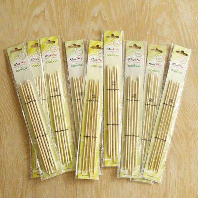 knitpro bamboo nadelspiel lang