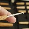 Haekelnadeln aus Holz