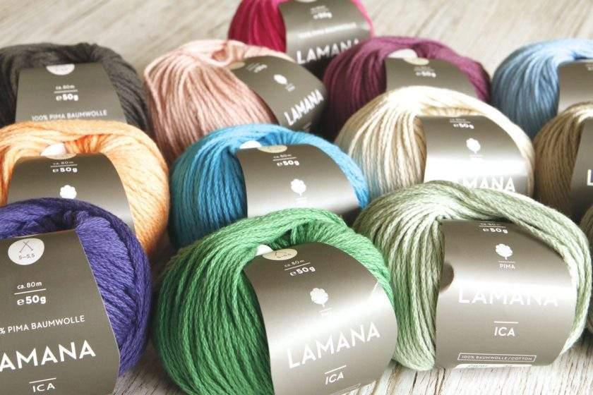 Baumwollgarn Ica von Lamana