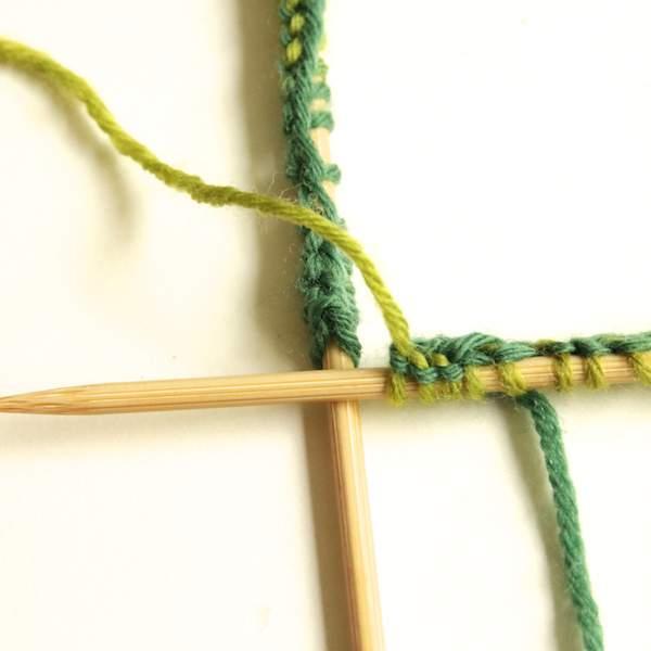 Stricken mit dem Nadelspiel 2