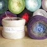 Wollbobbel mit Farbverlauf – neu im Shop