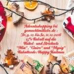 Adventshopping: Vom 9. bis 11. Dezember 15% Rabatt auf die Häkel- und Stricksets Mia, Claire und Mysig