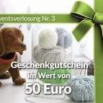 Adventsverlosung Nr. 3: Geschenkgutschein von Gemacht mit Liebe im Wert von 50 Euro
