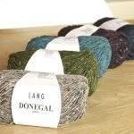 Donegal von LangYarns: Schönes Tweedgarn mit natürlichem Look