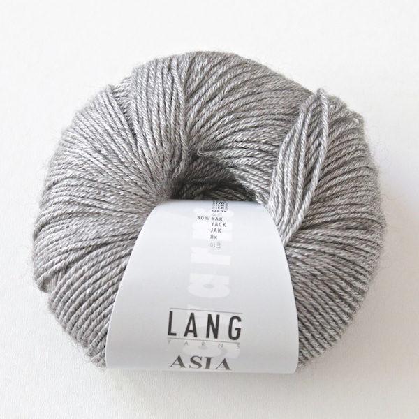 Lang Yarns Asia – Seide mit Yak – 50g145m