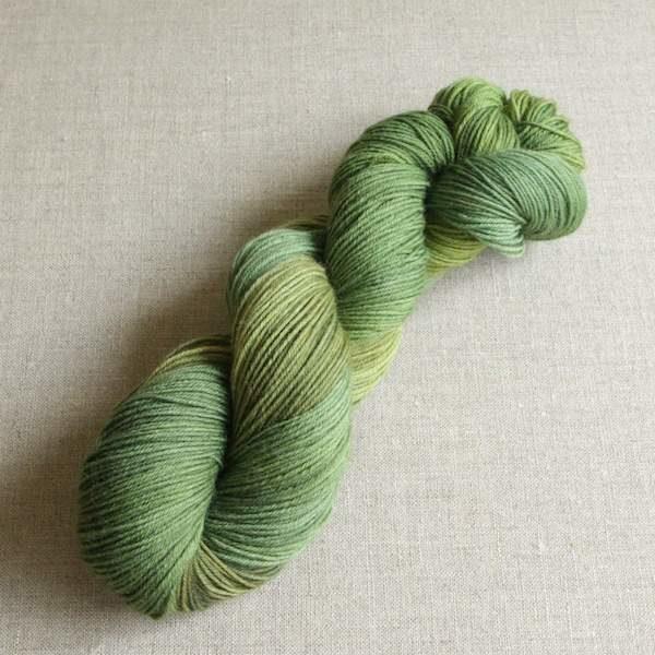Handgefärbte Sockenwolle von Gemacht mit Liebe - Farbe Ohne Moos nix los