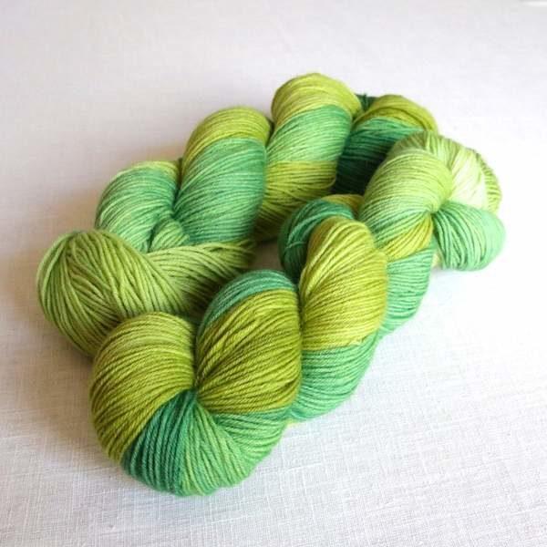Sockenwolle Farn