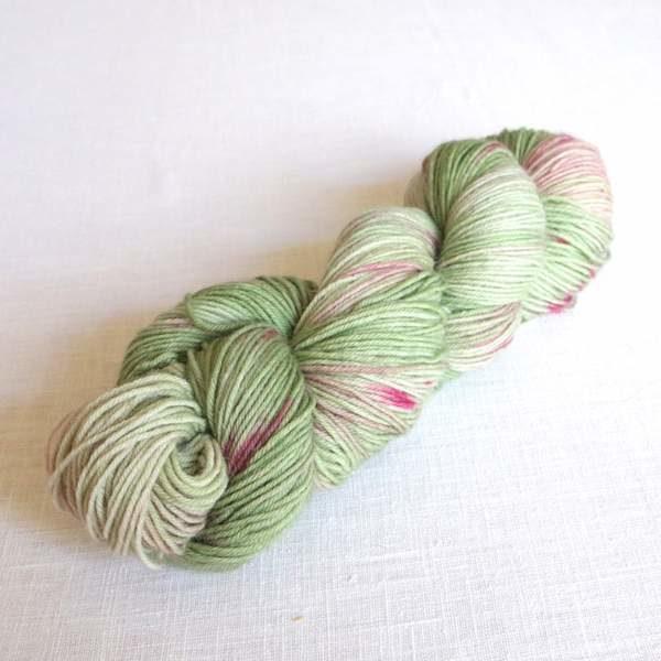 Sockenwolle Rhabarber
