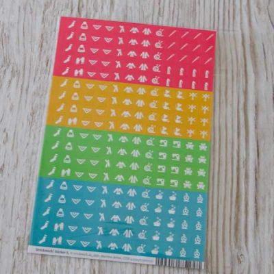 Strickmich Strickplaner Stickerbogen