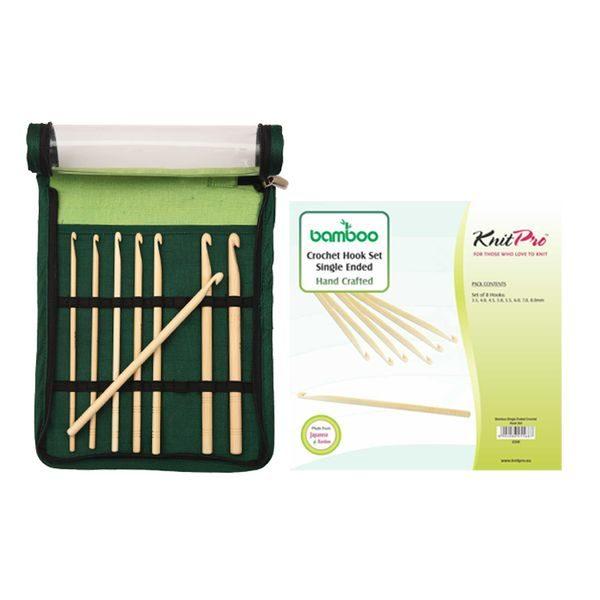 KnitPro Bamboo Haekelnadelset