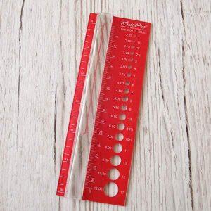 KnitPro Nadelmaß mit Lupe