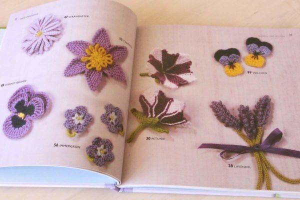 Blüten Häkeln Anleitungen Für Blüten Und Blätter Gemacht Mit Liebe