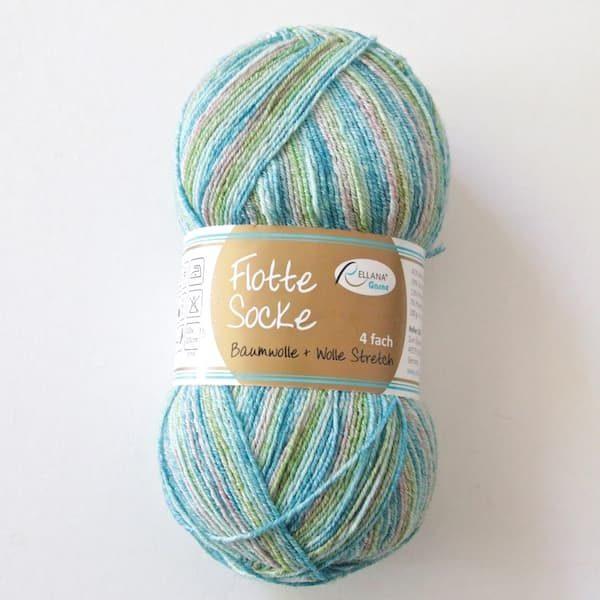 Rellana Flotte Socke Baumwolle Stretch