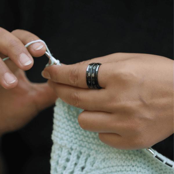 KnitPro Reihenzaehler Ring