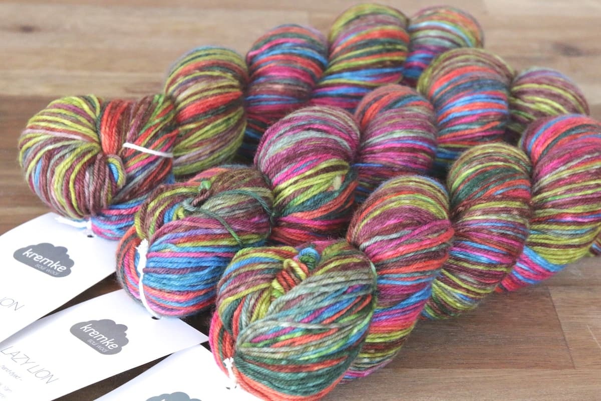 Lazy Lion von Kremke Soul Wool