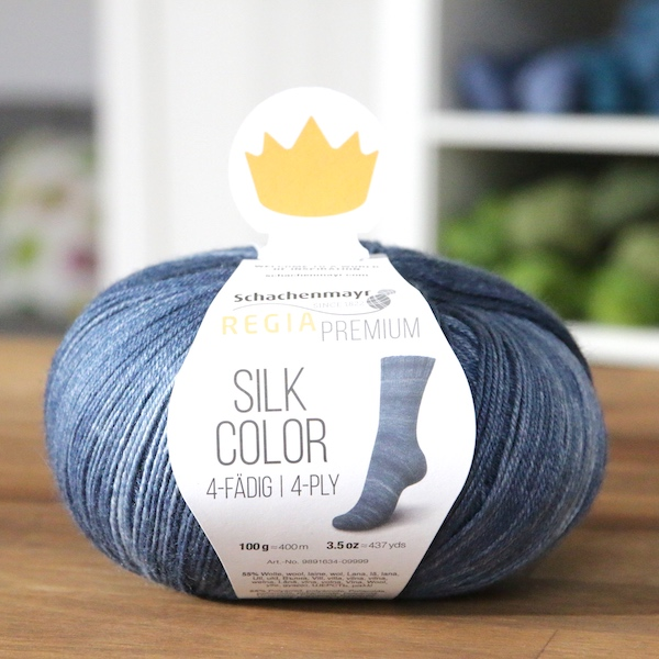 Regia Premium Silk Color 053 Jeans