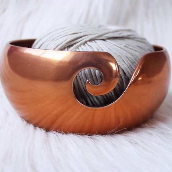 Furls Garnschale Kupfer