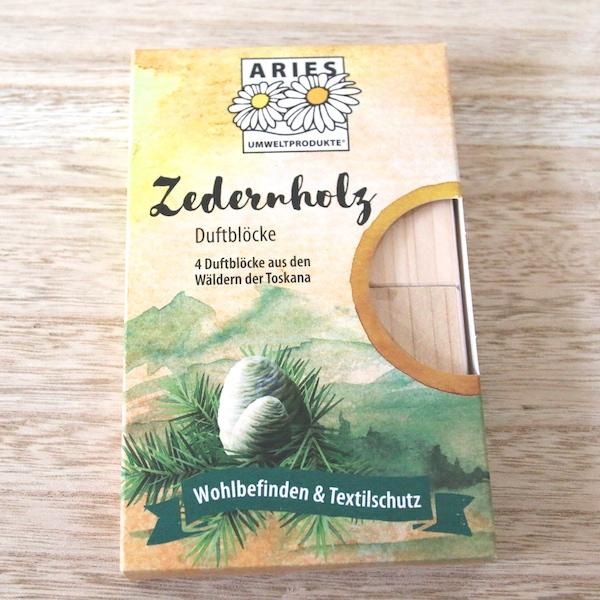 Zedernholz Duftblöcke von Aries