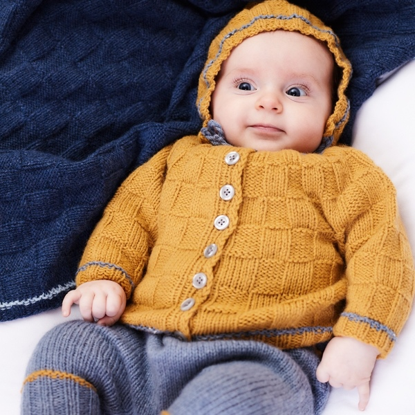 Lamana Baby 02 Strickjacke