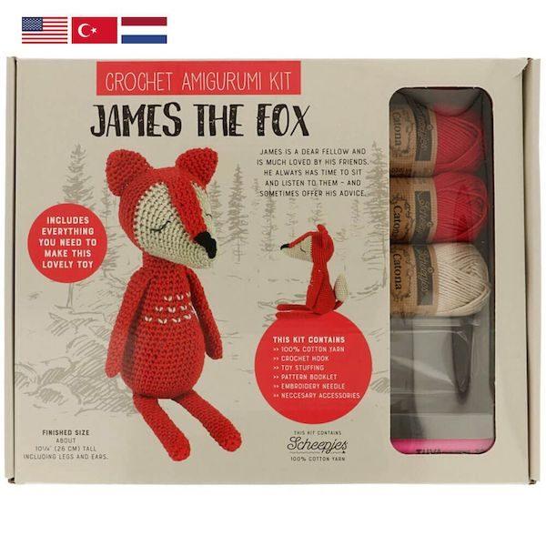 Tuva Amigurumi Häkelkit – James the Fox