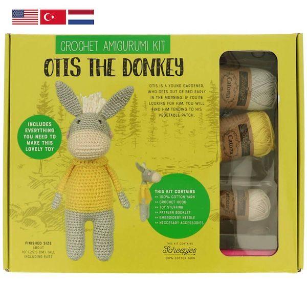 uva Haekelkit Otis the Donkey