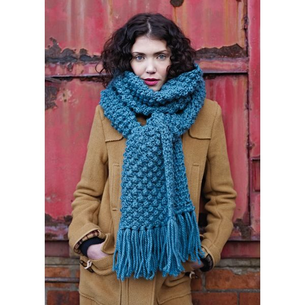 Rowan Big Wool Bubbly Scarf