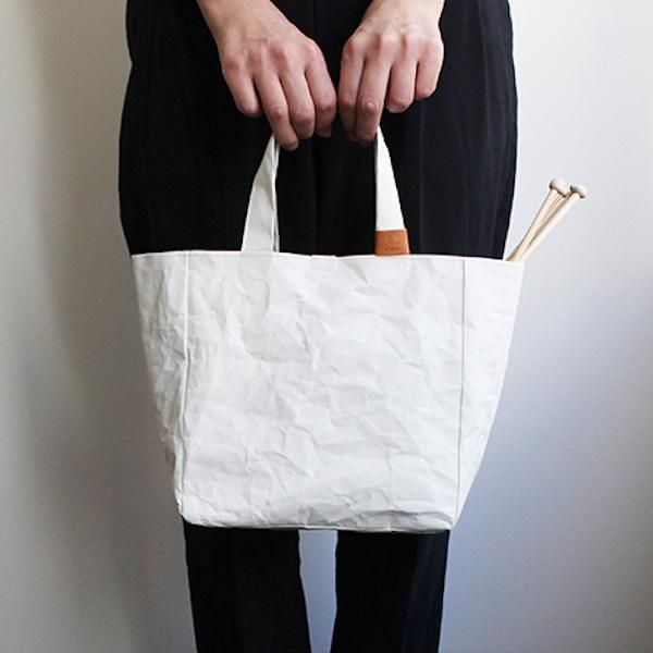 Cohana Washi Projekttasche Weiß Rosa